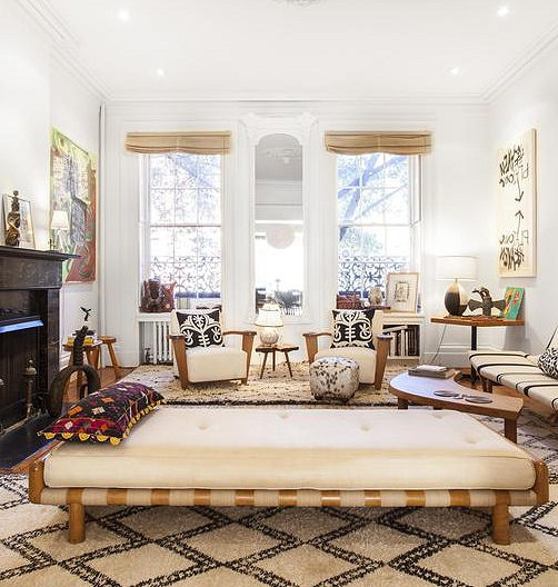 a stunning brooklyn heights interior aphrochic modern soulful style