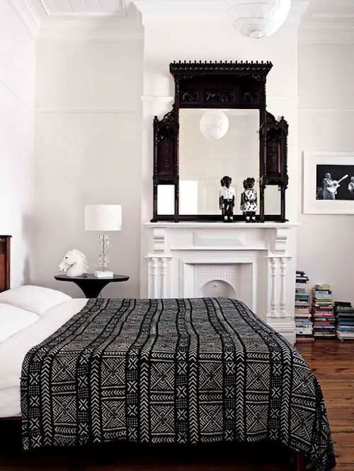 Decorating With Mud Cloth Aphrochic Modern Soulful Style