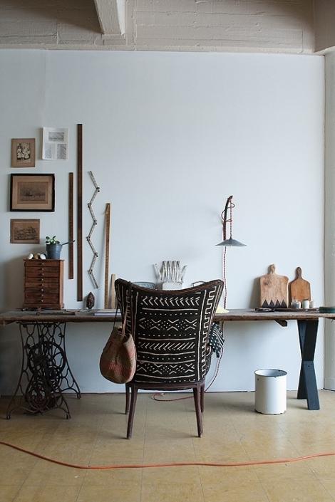 aphrochic - Mud Cloth Chair
