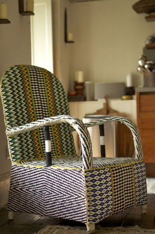 Delicieux Beaded Beauty: Yoruba Chairs