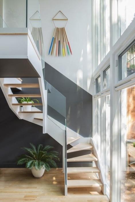 aphrochic - Brooklyn staircase