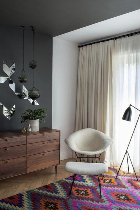 aphrochic - brooklyn black bedroom