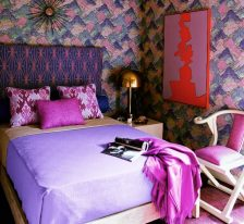 Update Your Bedroom With A Patterned Headboard