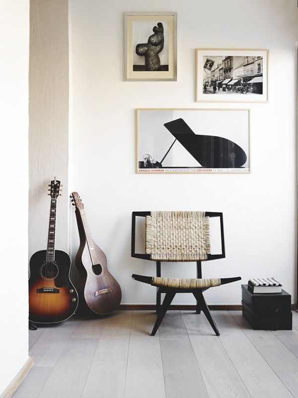AphroChic: 5 Ways To Style A Black and White Art Collection