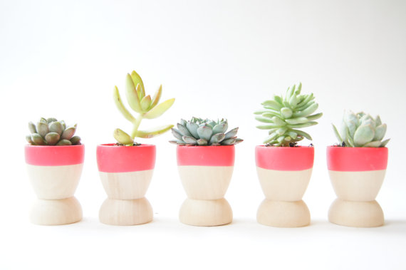 AphroChic: Fun Summer Planters For Outdoor Decorating