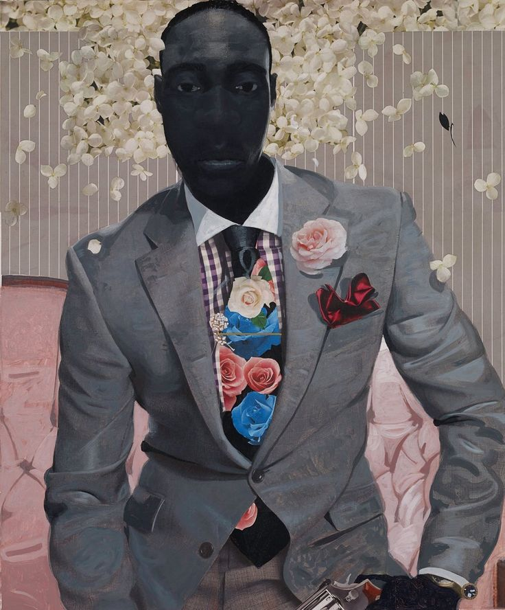 AphroChic: Intriguing Mixed Media Portraits By Phillip Thomas