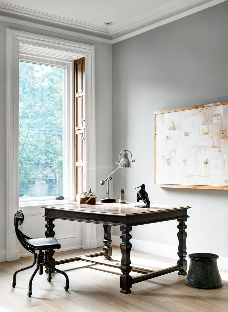 AphroChic: This Brownstone Is A Study In Neutrals