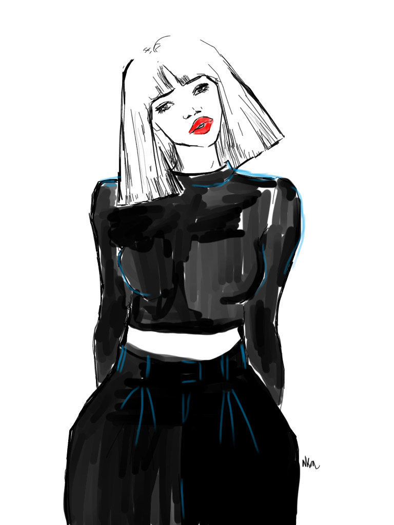 Crazy, Sexy, Cool Fashion Illustrations By Niki's Groove