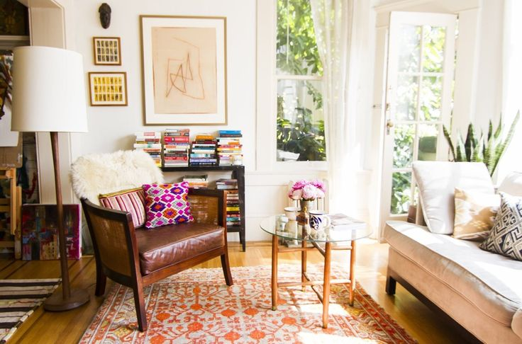 AphroChic + Apartment Therapy House Tour: Rena Thiagarajan of Project Bly