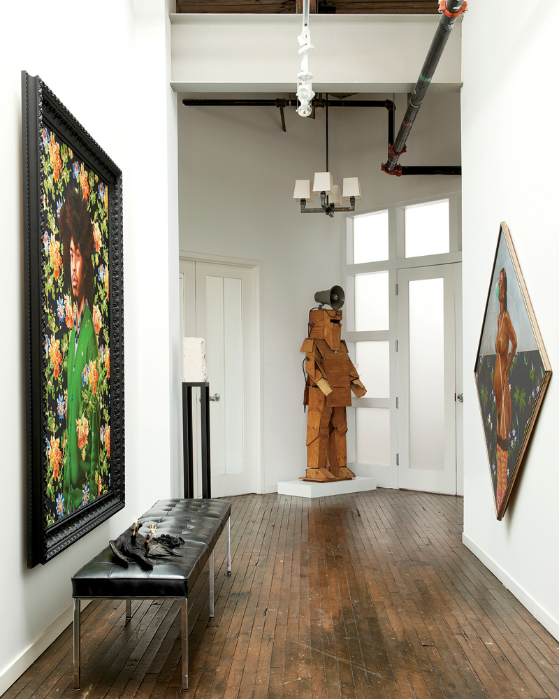 Loft House Design: Nick Cave's Artsy Chicago Loft - AphroChic
