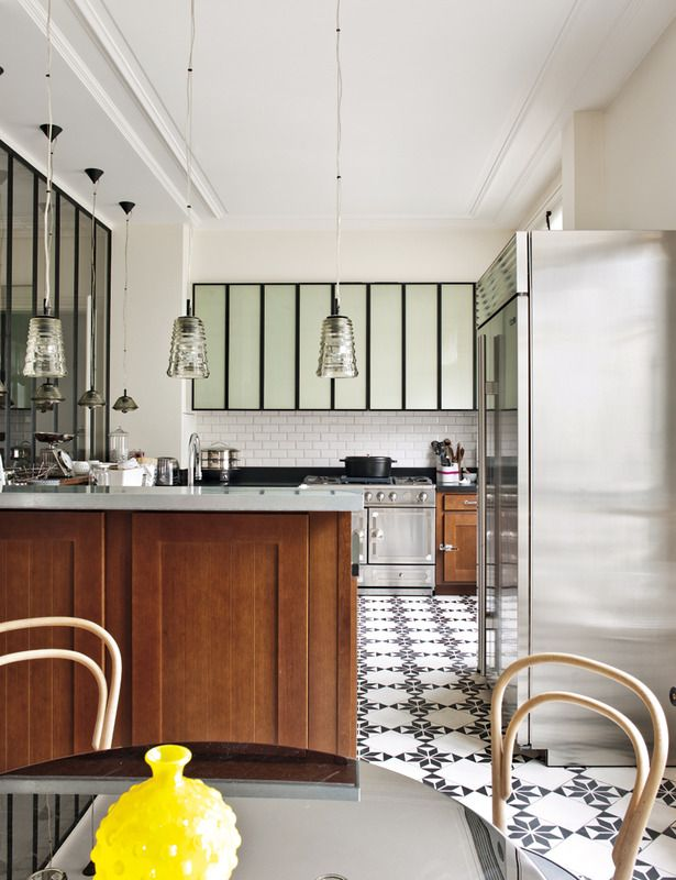 A Refined Parisian Apartment Aphrochic Modern Soulful