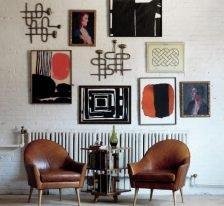 aphrochic - gallery wall