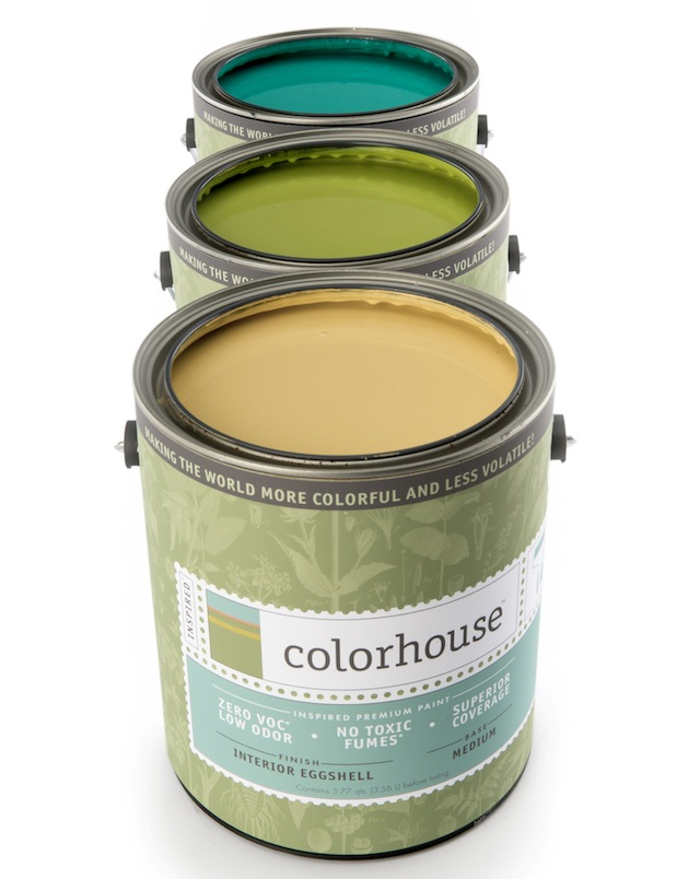 The Colorhouse collection has 128 colors to choose from.