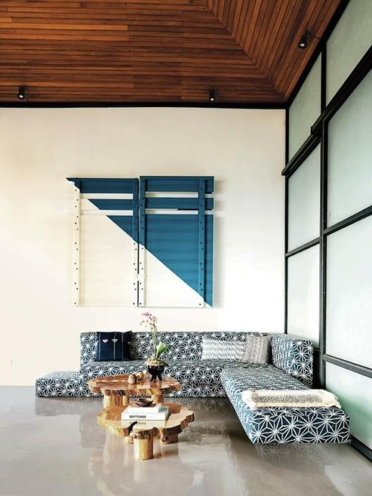 aphrochic - pattern sofa