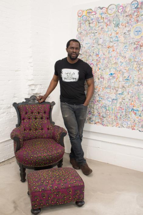 aphrochic - gbenga akinnagbe interview