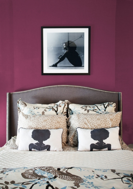 Aphrochic Paint Black Cherry Bedroom