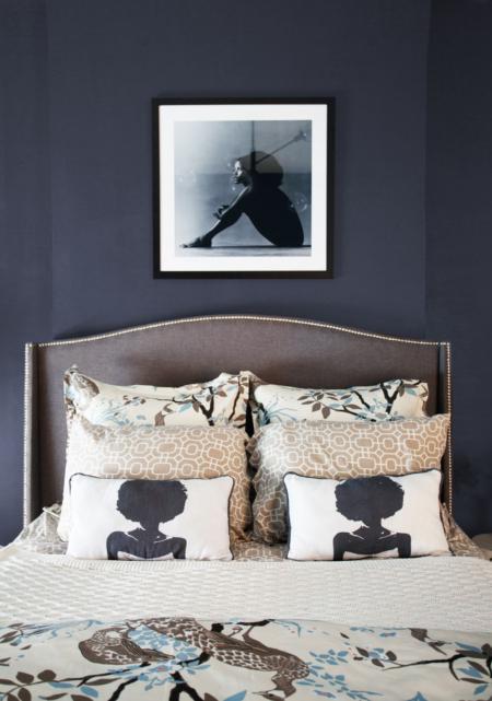 Aphrochic Paint Black Star Bedroom