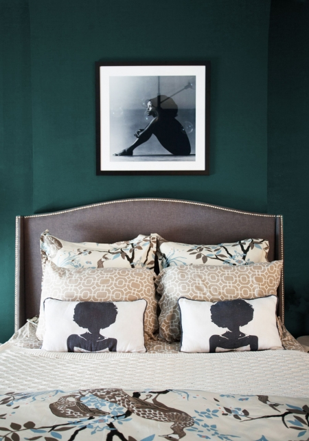 Aphrochic Paint Botanic Green Bedroom