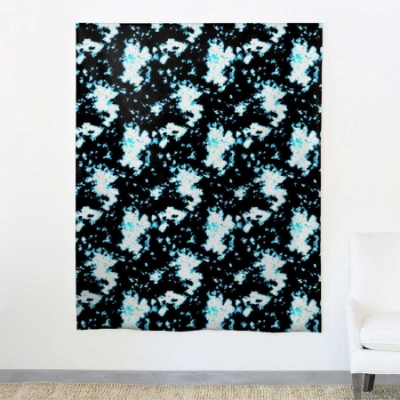 aphrochic - Batik Blue Fabric