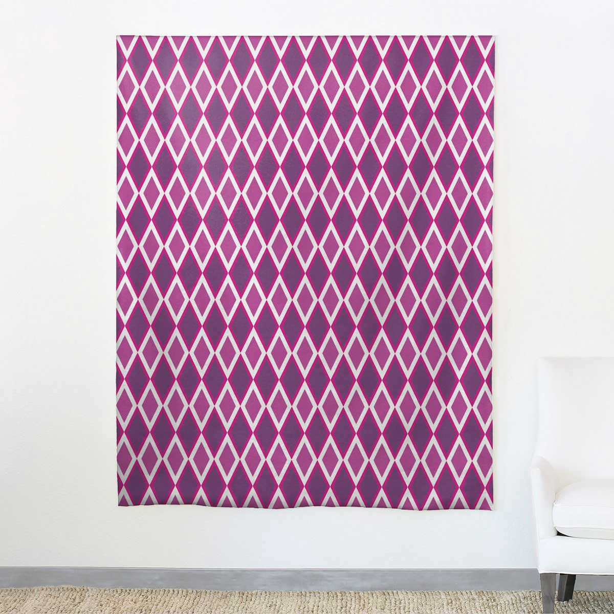 aphrochic - Kuba Fuchsia Fabric