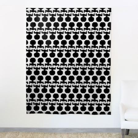 aphrochic - Silhouette Black Fabric