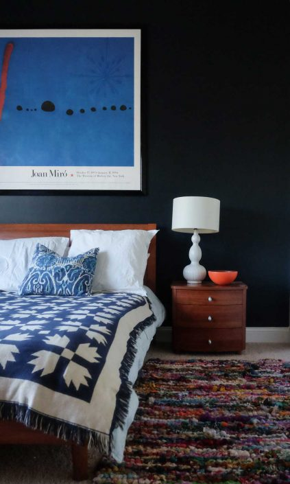 aphrochic - Stacey Blake North Carolina home Design Addict Guest Bedroom
