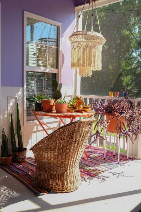 aphrochic - Stacey Blake North Carolina home Design Addict Patio