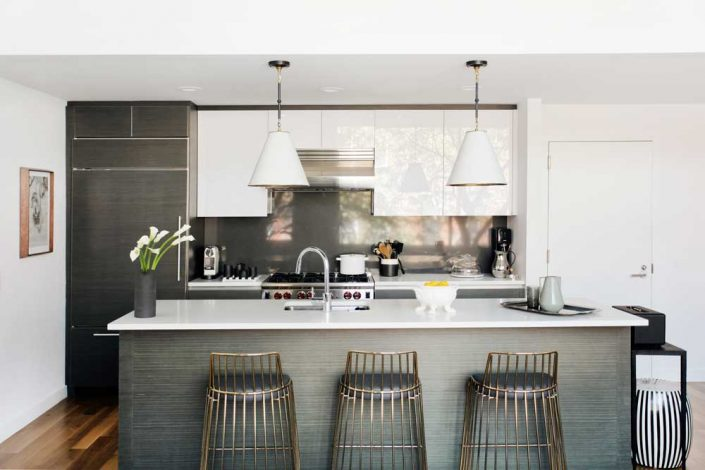 aphrochic - modern Brooklyn home Kitchen