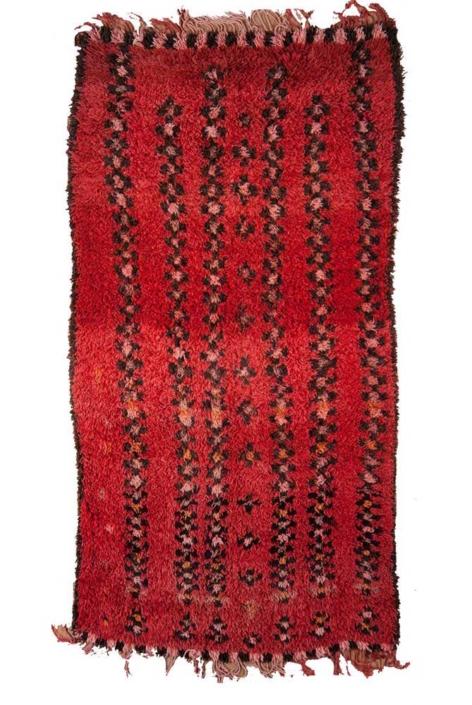 AphroChic Vintage Moroccan Rug Rose