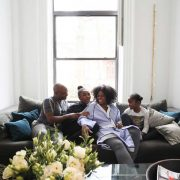 At Home With Delia Kenza And Julio Leitao Family Photo