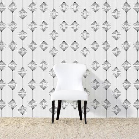 Broom Black Wallpaper