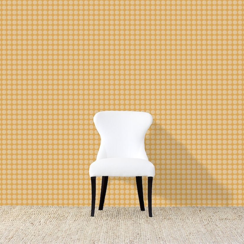 Darro Yellow Wallpaper
