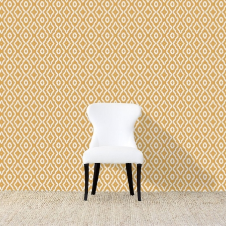 Haze Yellow Wallpaper