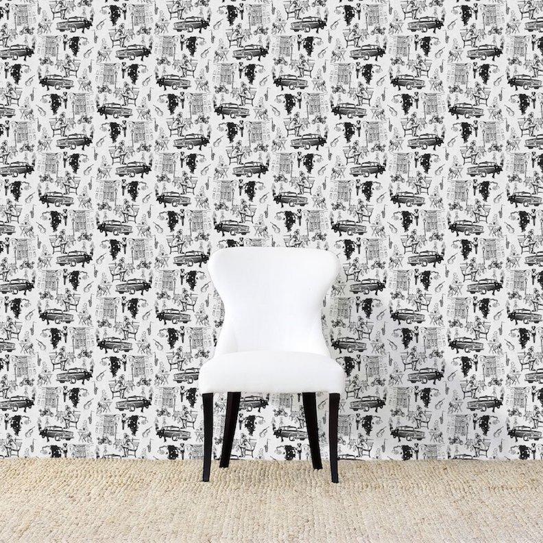 Hustle Black Wallpaper
