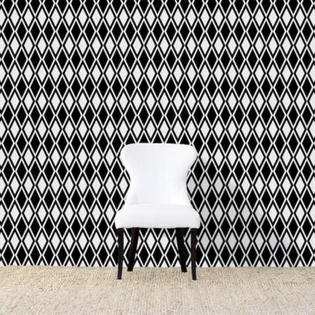 Kuba Black Wallpaper