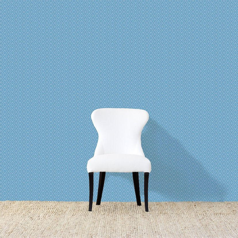 Slight Haze Light Blue Wallpaper