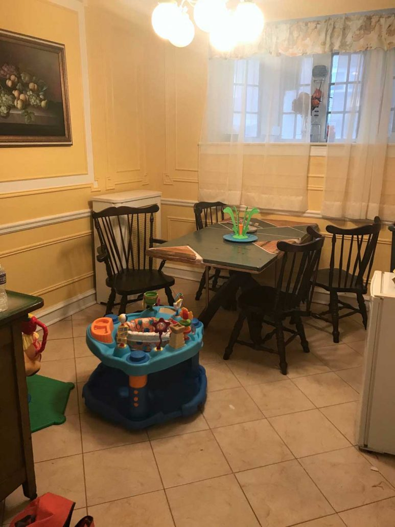 Belfield Breakfast Room Before