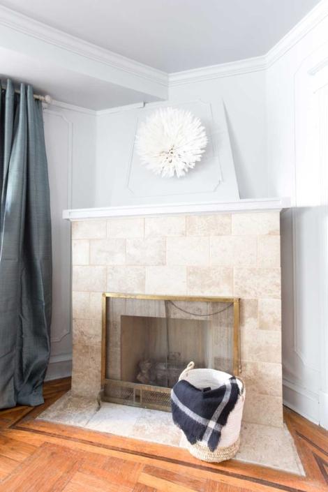 Belfield Living Room Mantel