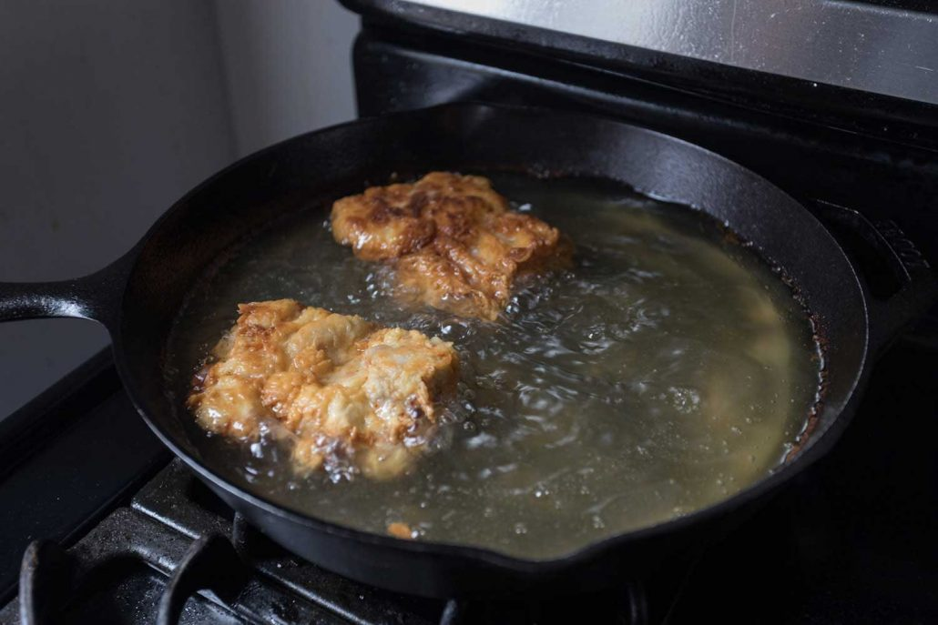 Fried Chicken Sandwich Pan