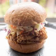 Fried Chicken Sandwich With Heat
