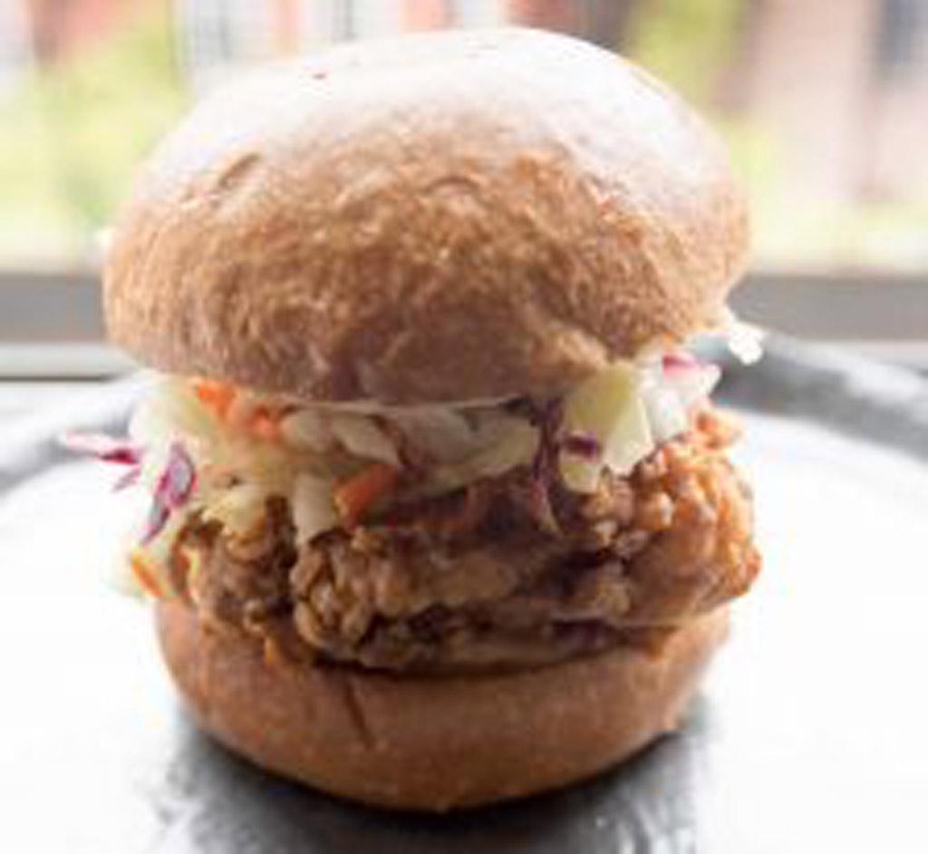 Fried Chicken Sandwich With Heat