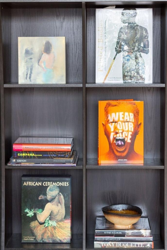 Literary Design AphroChic Helms Bakery Bookshelf
