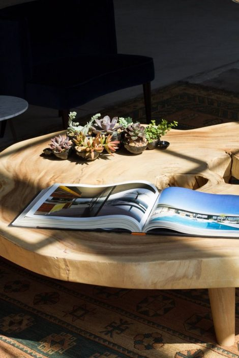 Literary Design AphroChic Helms Bakery Coffee Table