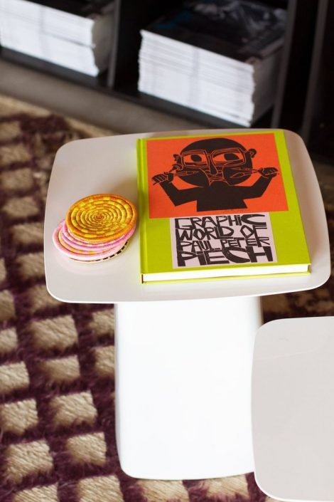 Literary Design AphroChic Helms Bakery Side Table