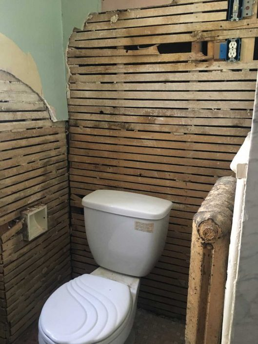 Bathroom Makeover Toilet Renovation