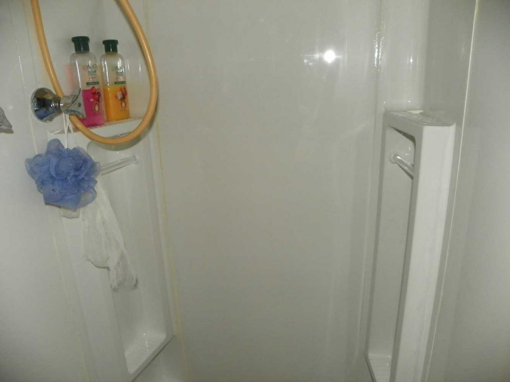 Bathroom Makover Shower Before
