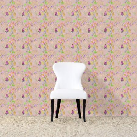 Ailey Wallpaper Pinkweb