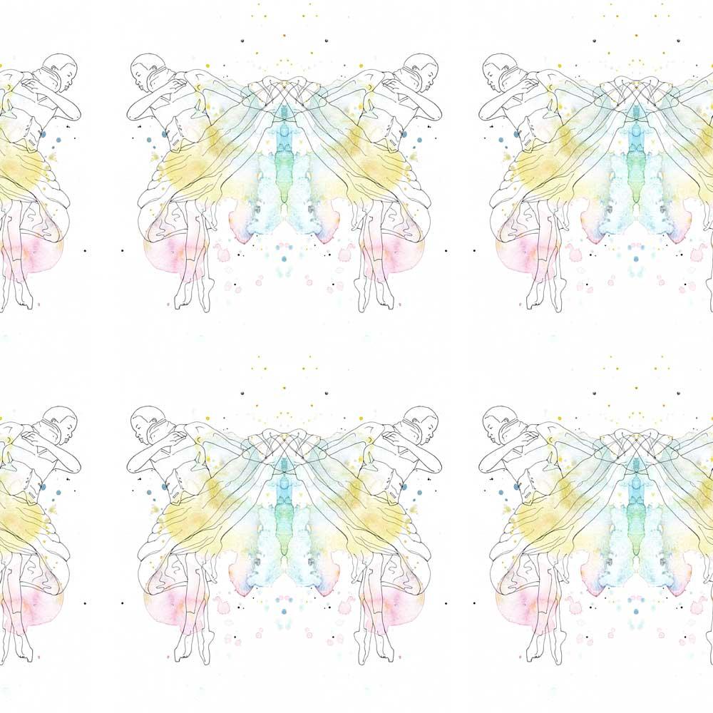 AphroChic X Kim Johnson Studios Butterfly Pattern