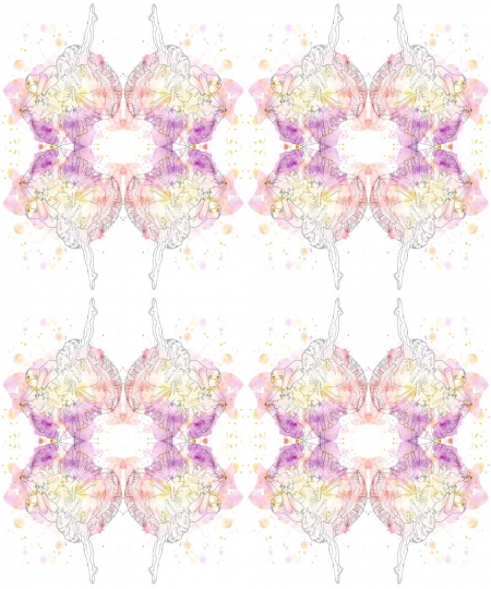 AphroChic X Kim Johnson Studios Misty Pattern
