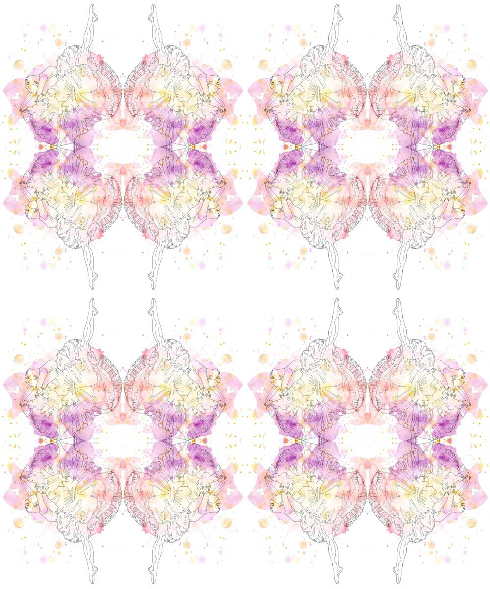 AphroChic X Kim Johnson Studios Misty Pattern